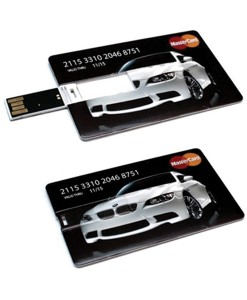 Credit Card Flash Drives